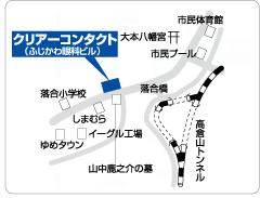 クリアーコンタクト高梁店の地図
